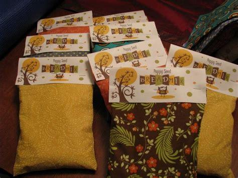 Handmade Hostess Gifts - gift idea bread bags
