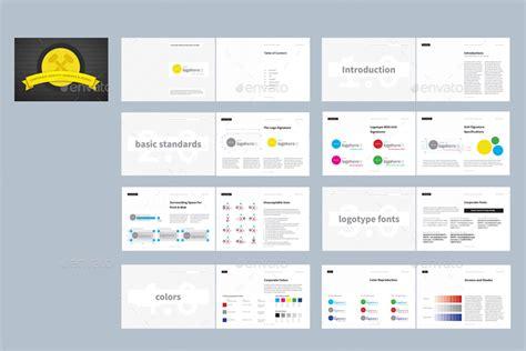 corporate identity manual template corporate identity manuals and guides template by afahmy