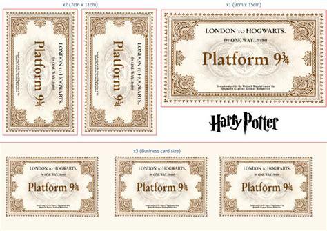 hogwarts express train ticket www pixshark com images