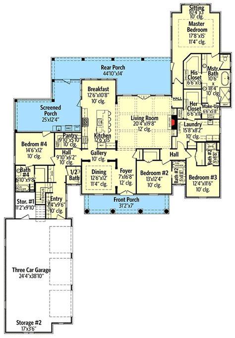 plan 51754hz modern farmhouse plan with bonus room as 25 melhores ideias de bonus rooms no pinterest