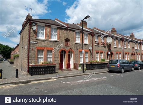 tattoo fixers hackney east london row of terraced houses on april street in dalston hackney
