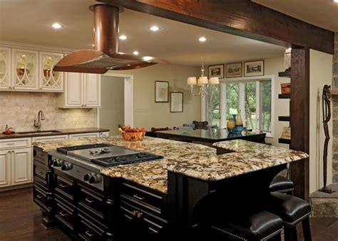 large kitchen islands building high end oversized with