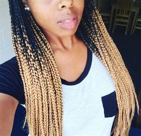 how to do ombre box braids blonde ombre box braids get this color braiding hair here