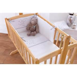 Baby Bedding Kiddicare Clair De Lune White Stardust Two Crib Bedding Set