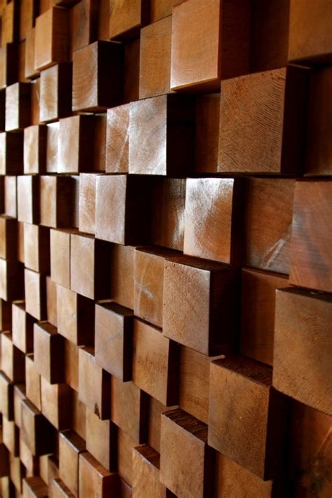 Wood Wall Treatments | for the home unique wall treatments and textured walls
