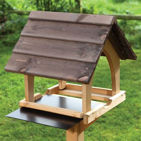 gothic bird feeding table rspb bird tables rspb shop