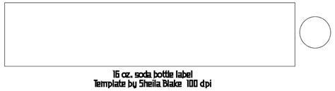 drink bottle label template s place templates 16 oz soda bottle label