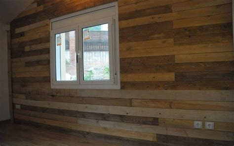 diy wood panel wall how to panel a wall with pallet wood 10 diy projects
