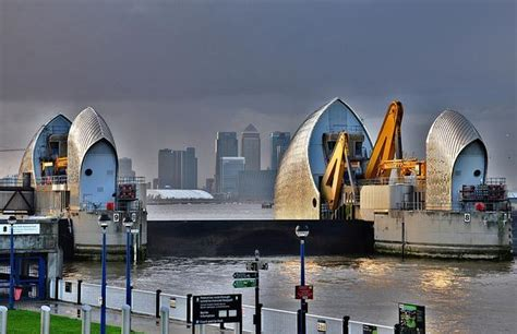 thames barrier tour mayor asks for review of thames barrier londonist