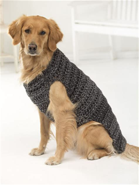 free crochet pattern for a dog coat miss julia s patterns free patterns 20 dog sweaters to