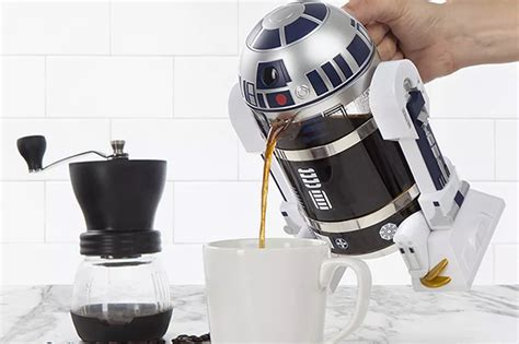 R2 D2 Coffee Press From ThinkGeek