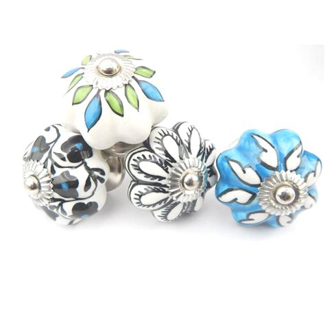 Casa Decor Door Knobs shop casa decor 4 pack multi color painted octangular cabinet knobs at lowes