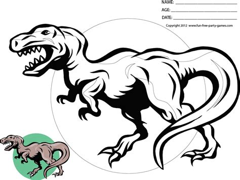 cartoon t rex coloring page coloring pages dinosaurs t rex 111 best coloring images