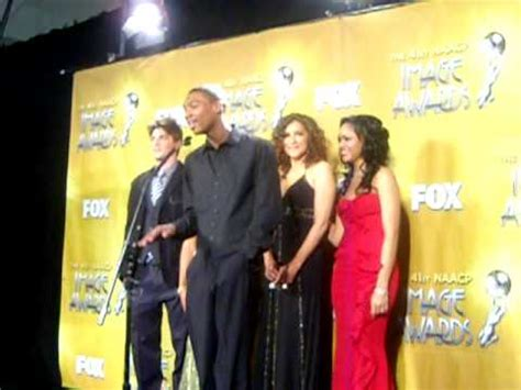 cast lincoln heights lincoln heights cast backstage at the 41st naacp image