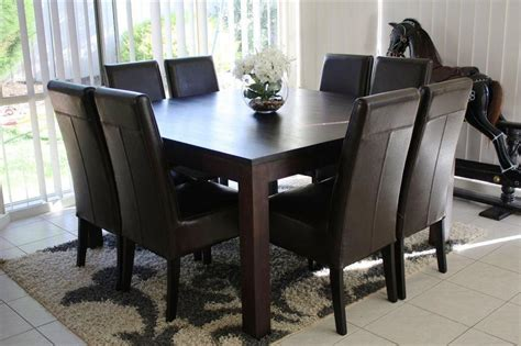 square table for 8 square dining table for 8 direct solid hardwood