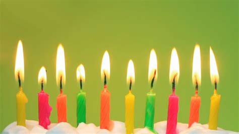 colorful candles colorful candles on birthday desktop wallpapers 1366x768