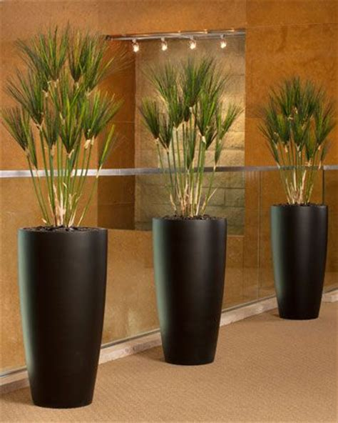 authentic silk papyrus plants home decor with artificial