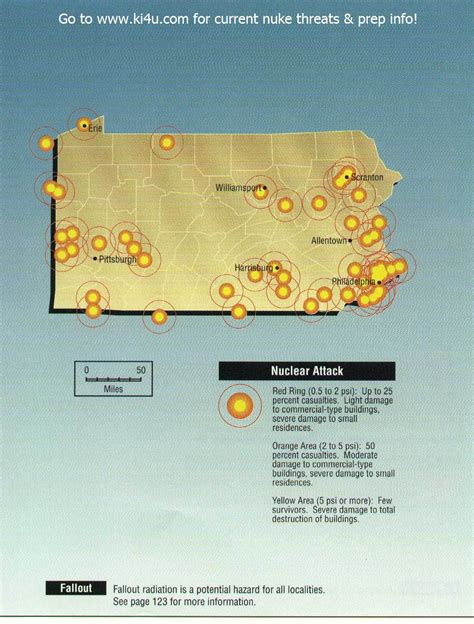 shelters in pa nuclear war fallout shelter survival info for pennsylvania with fema target maps