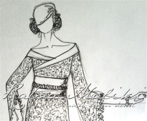 Kebaya Flowrose proses mendesain quot javanese quot batik
