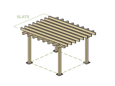 how to build a pergola with pictures wikihow