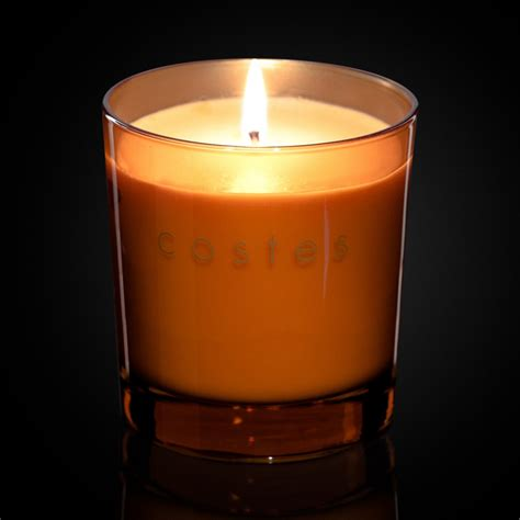 Orange Candle Scented Candle Orange Hotel Costes