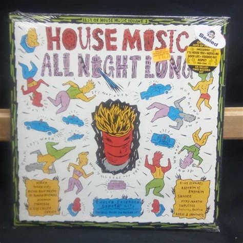 top 10 house music artists sealed 12 quot 2xlp various artists best of house music volume 3 house music all night