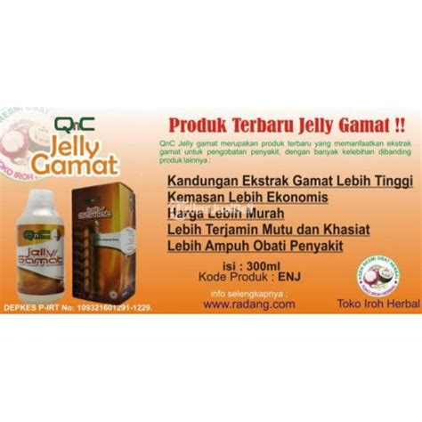 Qnc Jelly Gamat Herbal Tv obat herbal luka bakar qnc jelly gamat kuaitas teruji