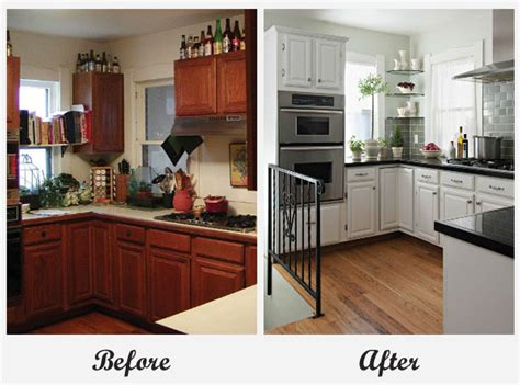 before and after home makeover room makeovers each featuring a very different before and