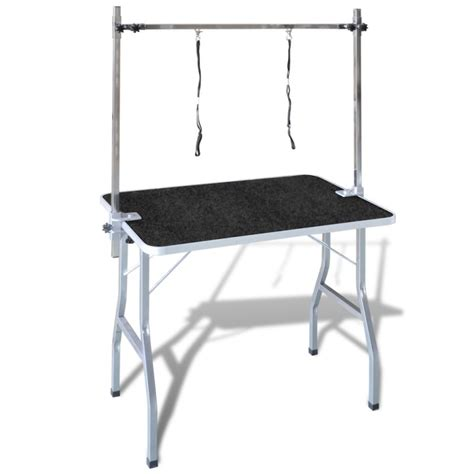 Grooming Table Mats by Foldable Pet Grooming Table W Rubber Mat 2 Loops Buy