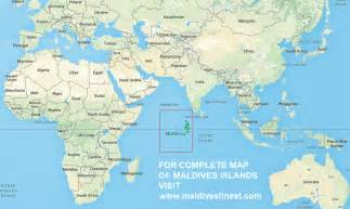 Maldives On World Map by Maldives Map With Resorts Airports And Local Islands 2017