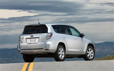 Pictures Of A Toyota Rav4 Toyota Rav4 Ev 2013 Widescreen Car Photo 05 Of 12