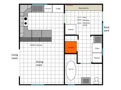 bathroom and laundry room floor plans my old new house main floor plans