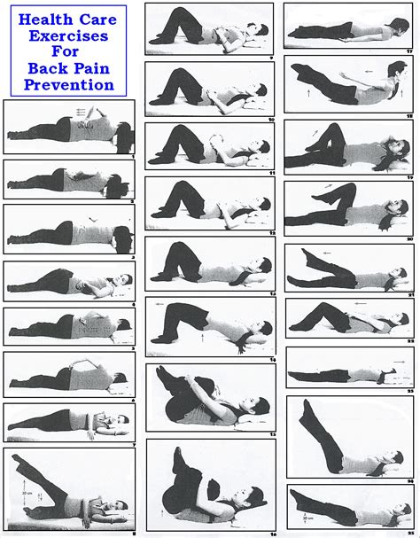 Safe Exercises For Lower Back Exercises Relief Ehow Exercise Is A Way To