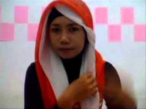 tutorial pashmina ala fatin jilbab tutorial video menggunakan jilbab pashmina ala