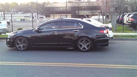 stock acura tl rims stock tl rims painted dropped on tein s techs