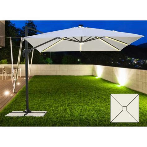 pali luce giardino ombrellone a braccio da giardino con luce led solare