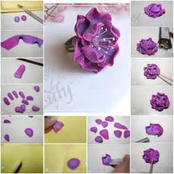 how to make floral arrangements step by step how to make nice polymer clay flower arrangements step by