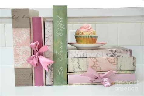 dreamy romantic pastel shabby chic cottage chic books with