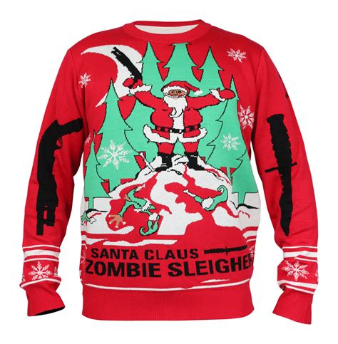 zombie christmas sweater la gear sweater notions