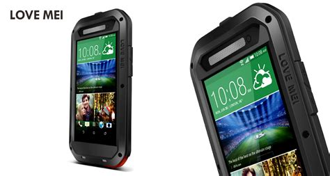 Kingkong Glass Htc One M8 mei powerful water resistant shockproof dust dirt snow proof alum armor king
