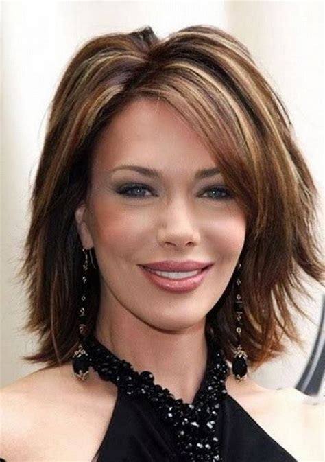 hair styles for thin faces over 40 medium hairstyles for women over 40 oblong face