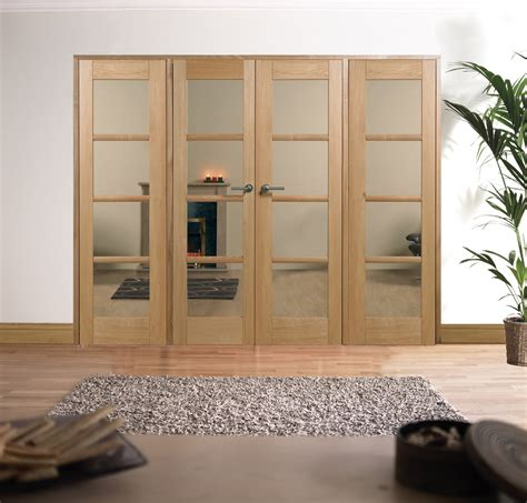 Lpd Oak Oslo W8 Room Divider Set Interior Room Divider Doors