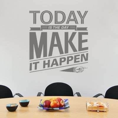 Bathroom Insects Today Is The Day Motivational Quote Wall Decals