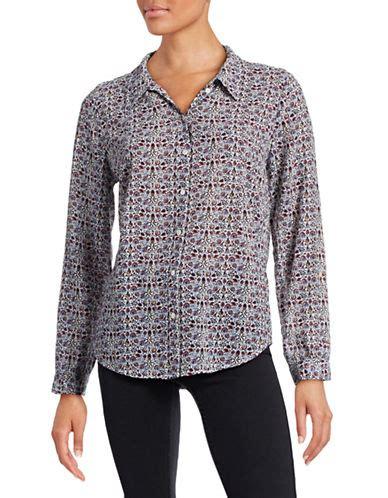 Blouse Katrine Jfashion joie katrine printed cotton blouse modesens