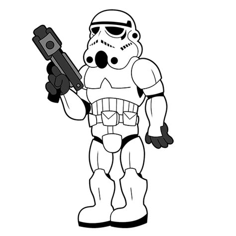 free coloring pages of stormtrooper