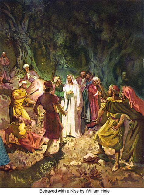 circumstances  jesus arrest