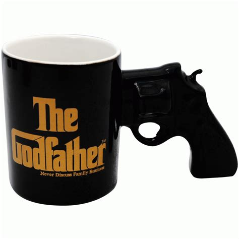 Simply Fab Mafia Emagazine by The Godfather Gun Mug Mugs