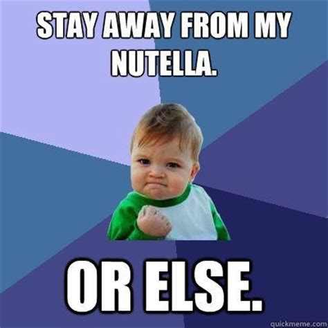 Nutella Meme - man invents nutella lock brings humans one step closer to