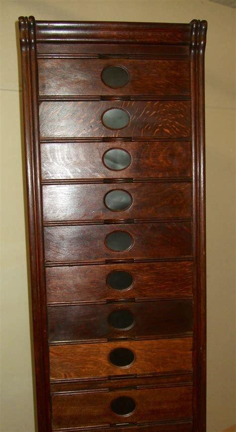 Narrow Filing Cabinets Uk by Narrow Amberg Oak Filing Cabinet Drawers
