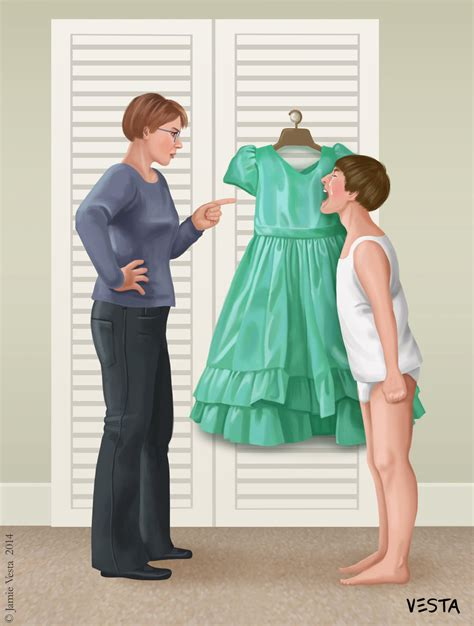 boy in dress punishment unhappy tommy by eves rib on deviantart